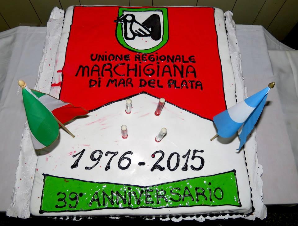 Festeggiato il 39mo compleanno dell'Unione Marchigiana di Mar del Plata