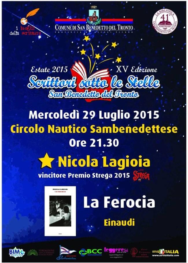"""Nicola Lagioia, """"La ferocia"""""""