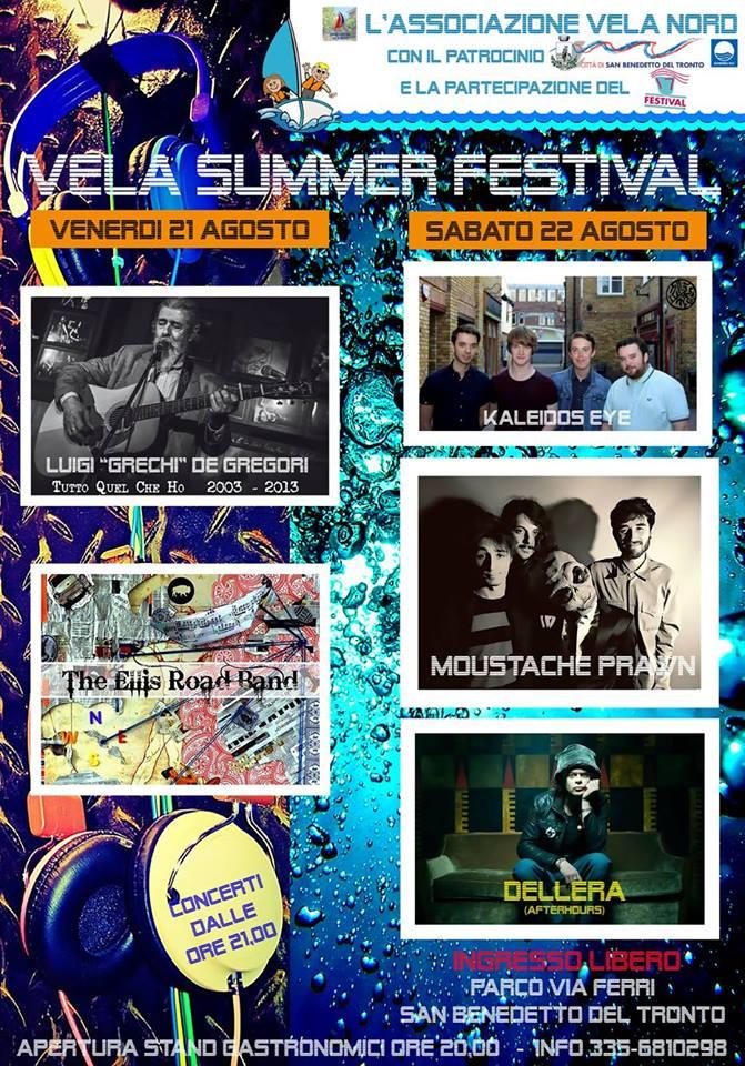 """Pronti per il """"Vela Summer Festival"""""""