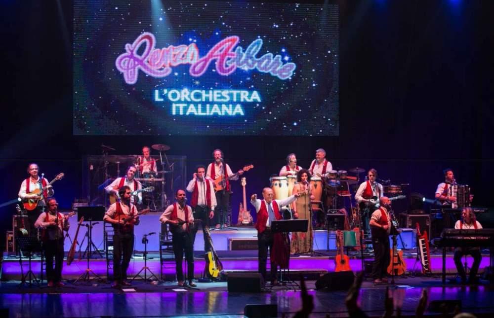 Grande successo per Renzo Arbore e  l'Orchestra Italiana ad Ascoli