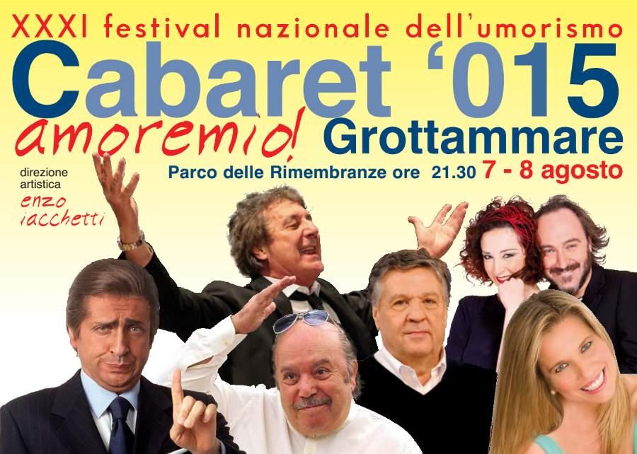 "Ballantini tra sacro e profano al ""Cabaret, amoremio!"","