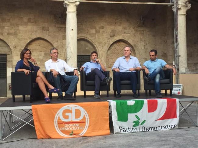 Casini-Ceriscioli-Comi-Di Francesco-Gaspari_Festa Unità_Ap