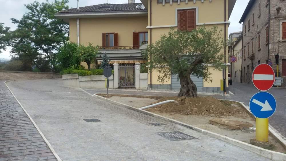 Appignano: terminati i lavori di riqualificazione di via Francesco Garbielli