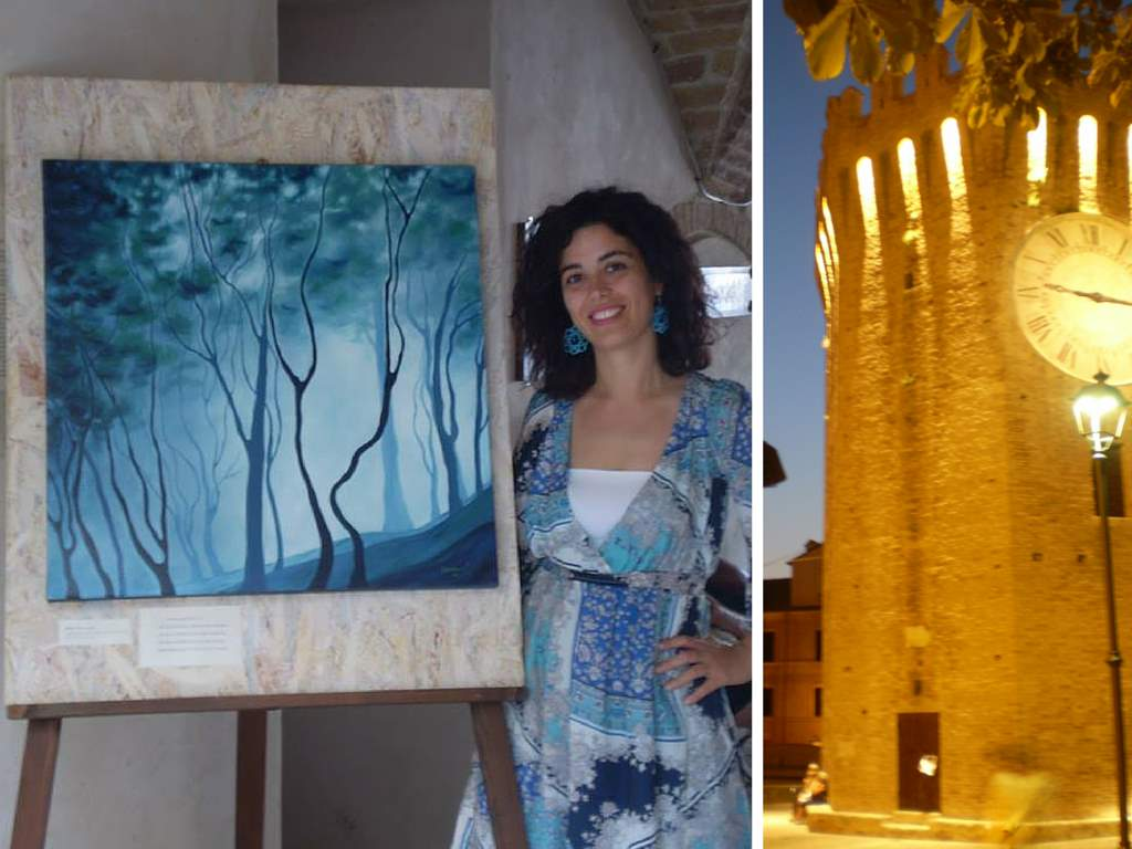 Milena Bernardini, personale alla Torre dei Gualtieri