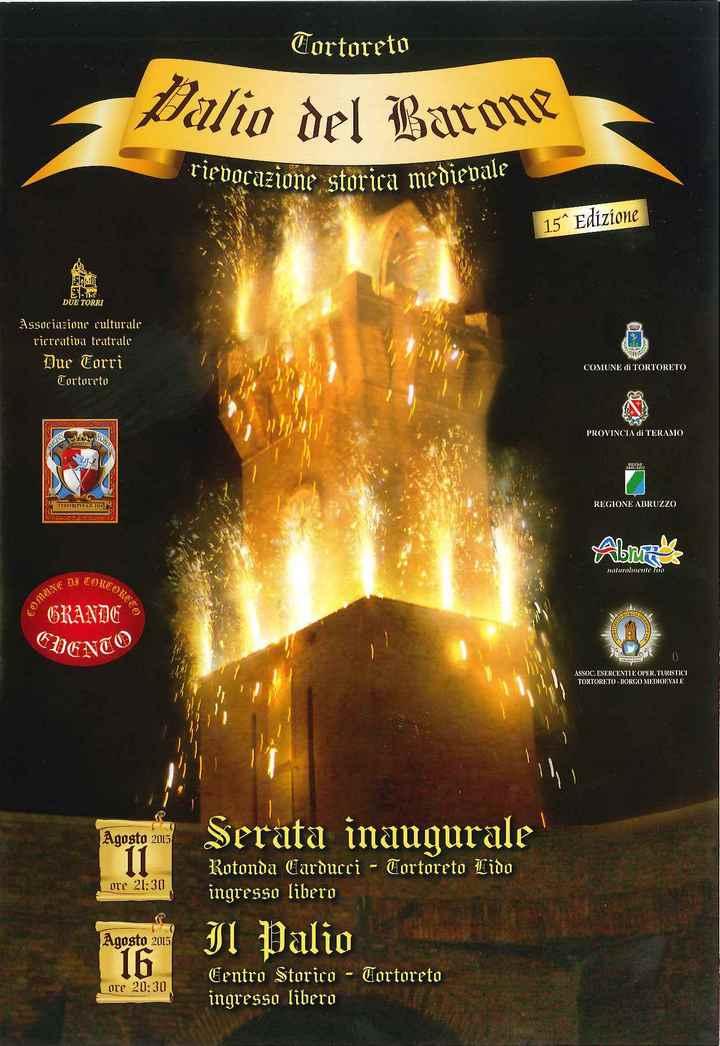 Palio del Barone, la 15ma edizione parla sambenedettese