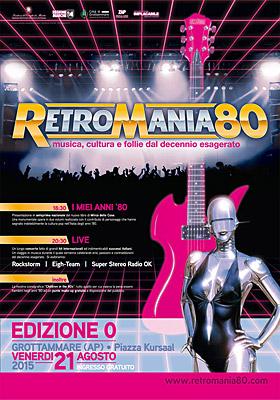 Retromania80 a Grottammare