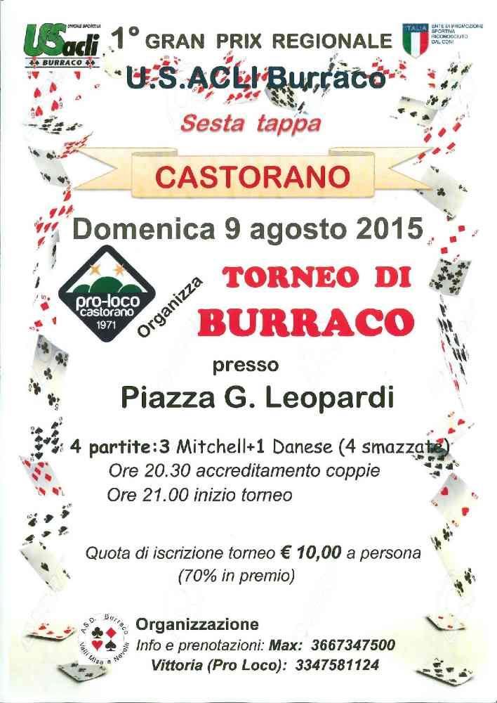 Gran Prix Regionale di Burraco a Castorano