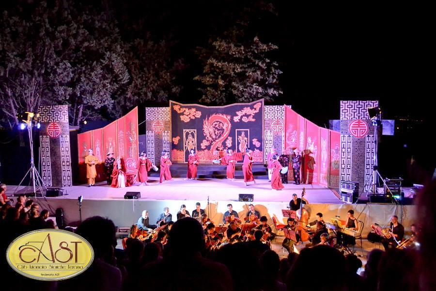 Festival dell'Operetta, a Nereto un successo di musica e di motorismo d'epoca