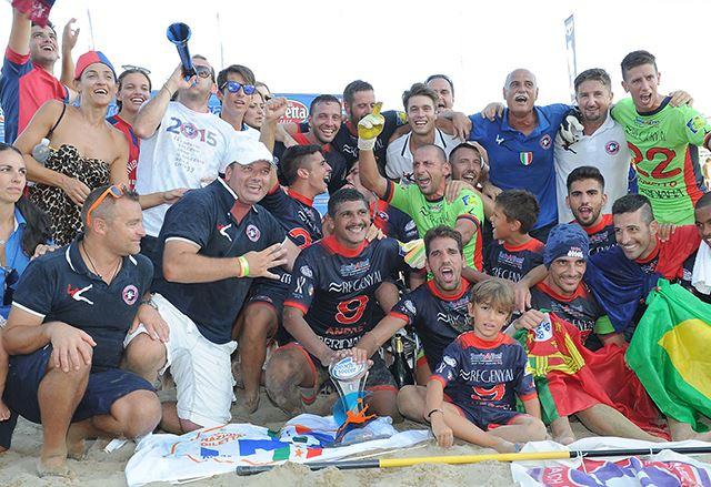 Beach Soccer, Terracina – Happy Car Samb 4 a 5