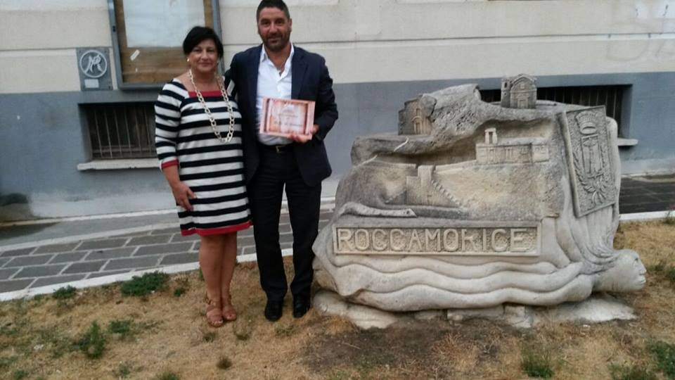 Premio Roccamorice 2015 a Walter De Berardinis