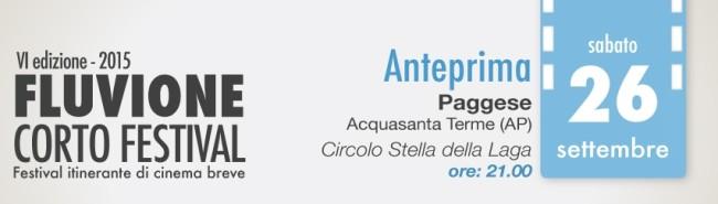 anteprima Fluvione Corto Festival 2015