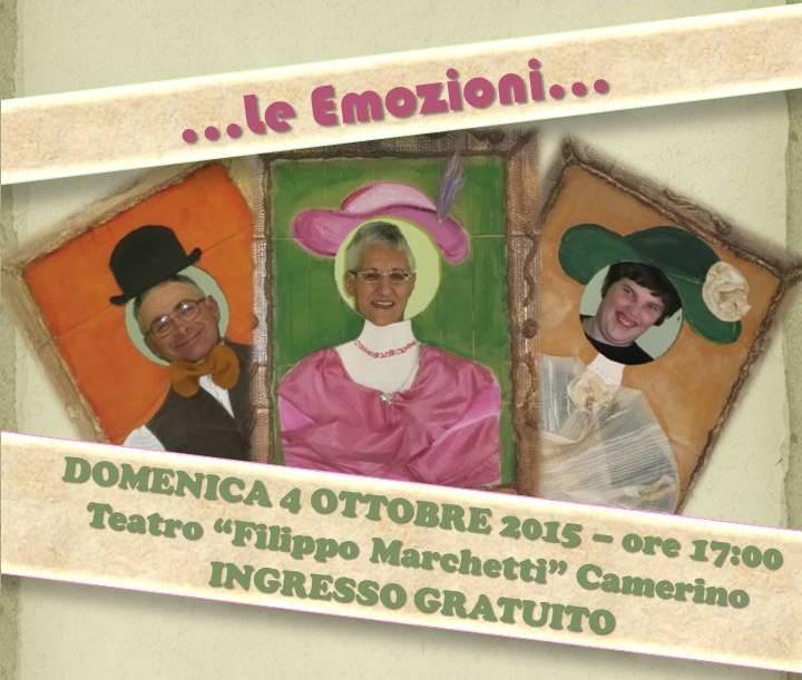 …le Emozioni… al Teatro Filippo Marchetti