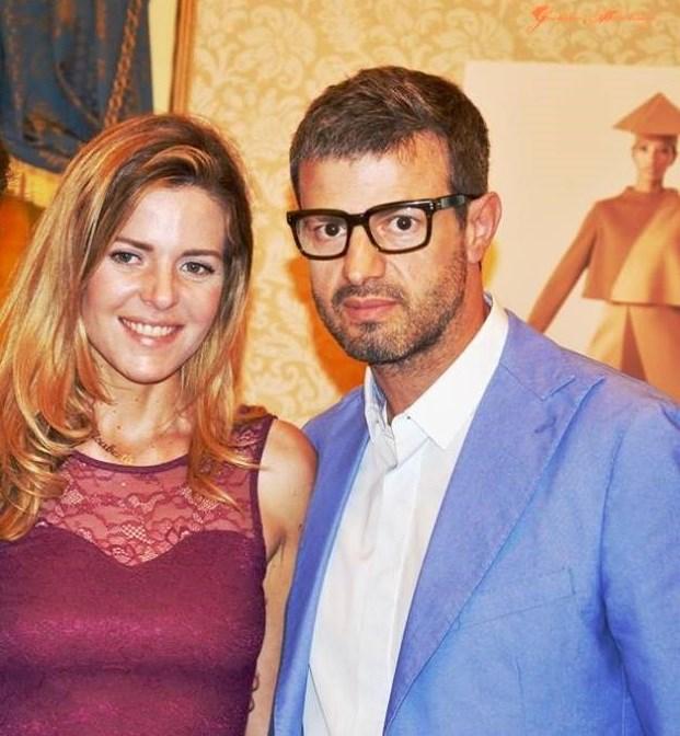 Camaiani - con l'Attrice Elisabetta Pellini