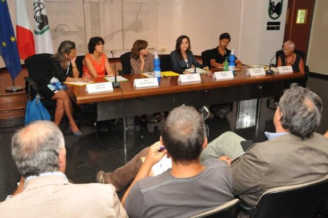 Seminario internazionale di educazione interculturale: un momento della presentazione
