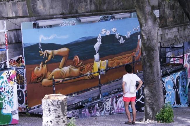 Murales Andrea Tarli - Lisbona