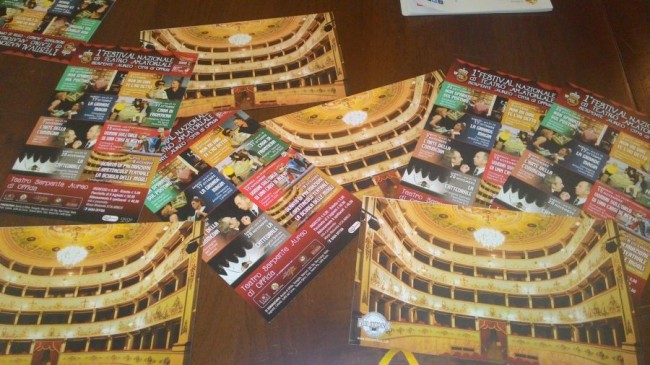 1° Festival Nazionale di Teatro Amatoriale al Serpente Aureo