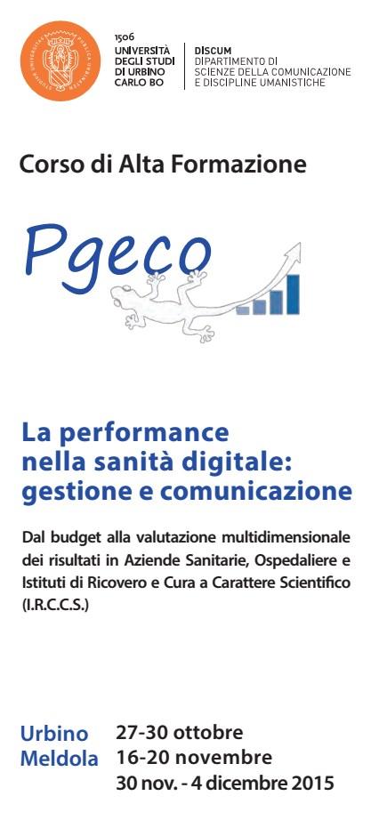La performance nella sanità digitale… all'UniUrb