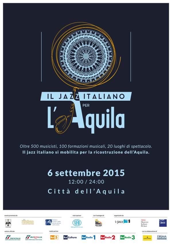 Il Jazz italiano per L'Aquila: una giornata semplicemente straordinaria!