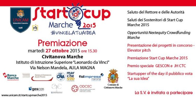 Start Cup Marche 2015