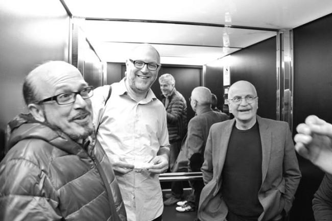 l'Artista nella società del suo tempo - Marco Di Battista, Fabio Ciminiera e Lino Rosetti  - foto Catia Panciera
