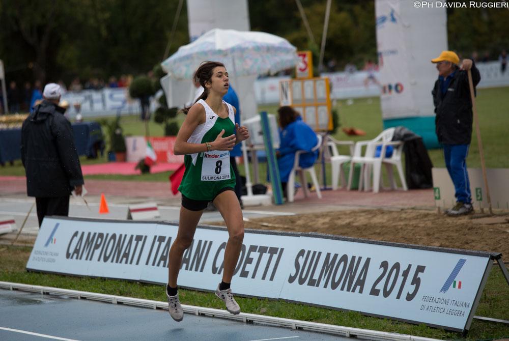 A Sulmona è nata una stella: Emma Silvestri neo campionessa italiana dei 1200 siepi