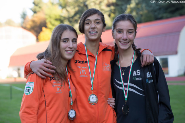 Lara Prosperi, Emma Silvestri, Francesca Vallorani