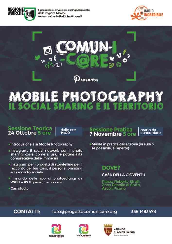 Mobile Photography – il social sharing e il territorio