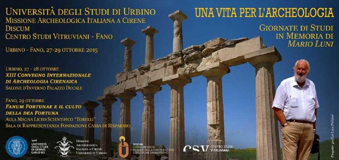 Urbino e Fano ricordano Mario Luni