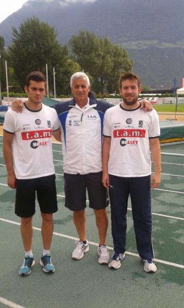 Team Atletica Marche 4a nei societari di prove multiple