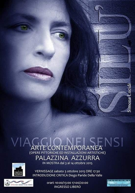 "Simona Lucidi, ""Viaggio nei sensi"""