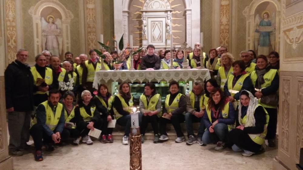 """Più di 50 persone per la """"Camminata per San Giacomo della Marca"""""""