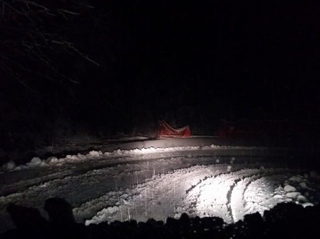 Neve a Valle Castellana