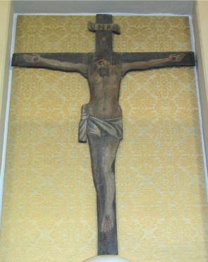 Donazione di Mons. Mattioli Umberto per il restauro della Croce del XVII sec