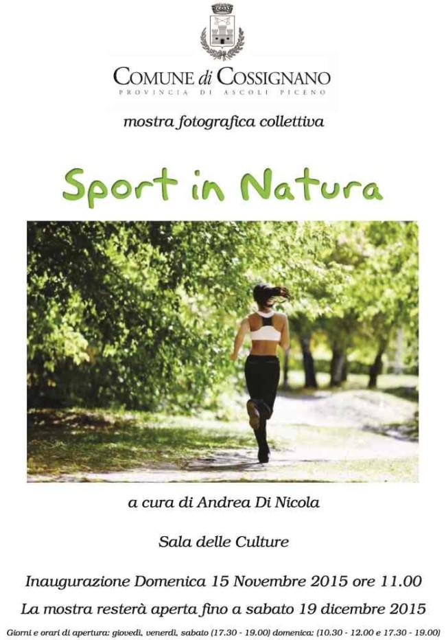 Mostra Fotografica Sport in Natura