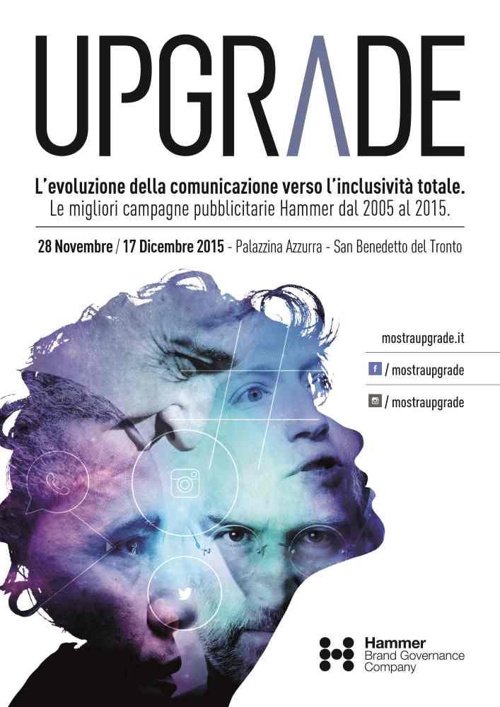 Upgrade, i migliori progetti di comunicazione in mostra alla Palazzina Azzurra