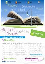 Open Day biblioteche rete S.I.P. Sistema Interprovinciale Piceno