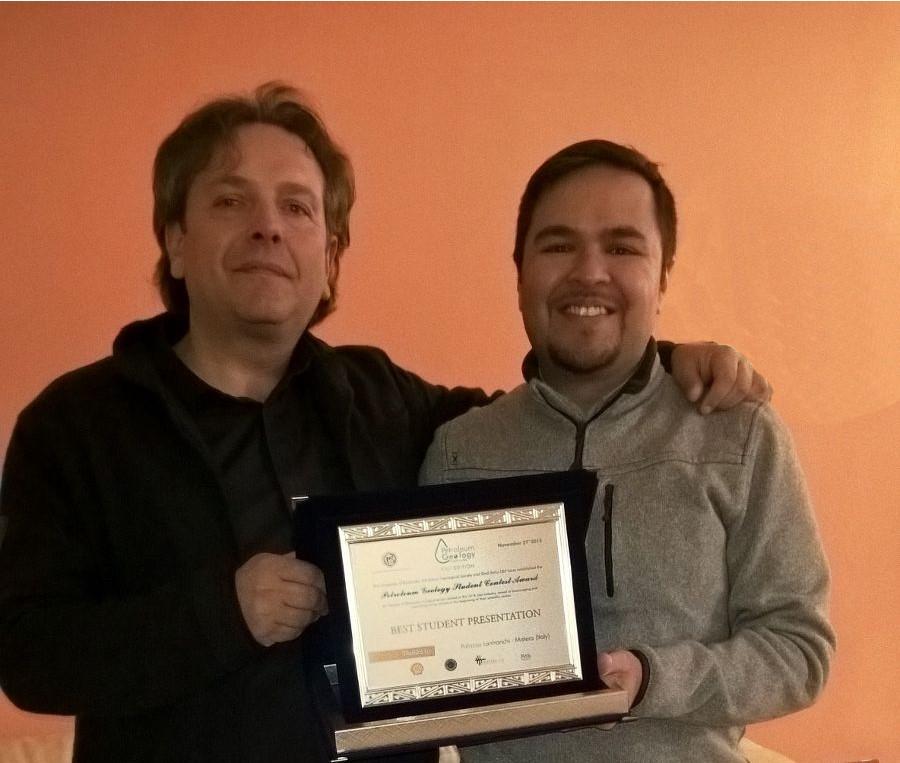 """Studente UniCam vince il primo """"Contest"""" in Italia per i dottorandi in Scienze della Terra"""
