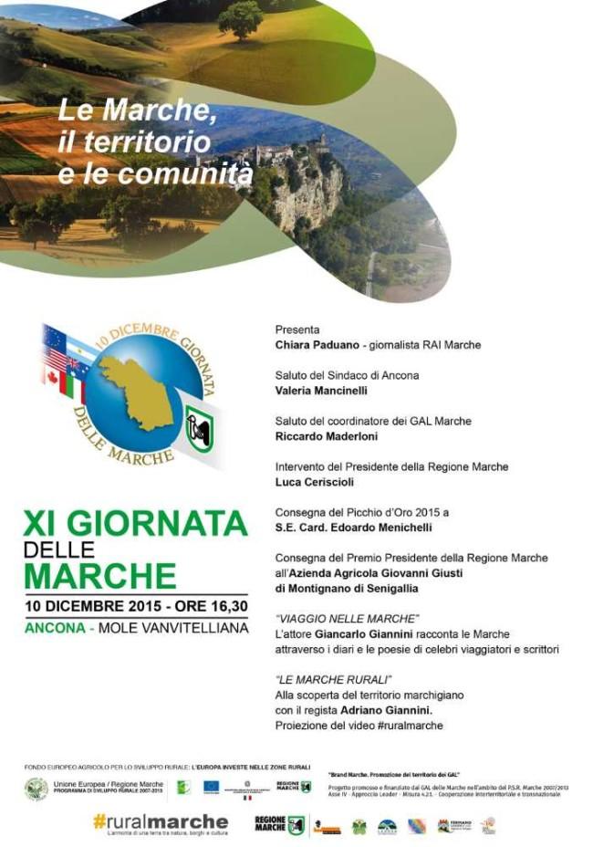 Giornata delle Marche 2015_programma
