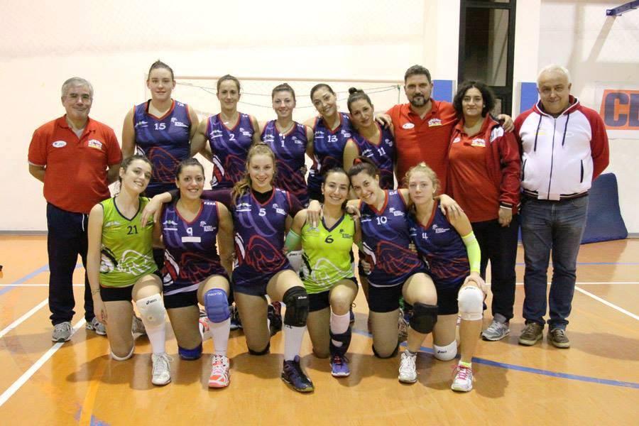 La Volley Angels Project si aggiudica la gara contro la Cosmetal Recanati al tie break
