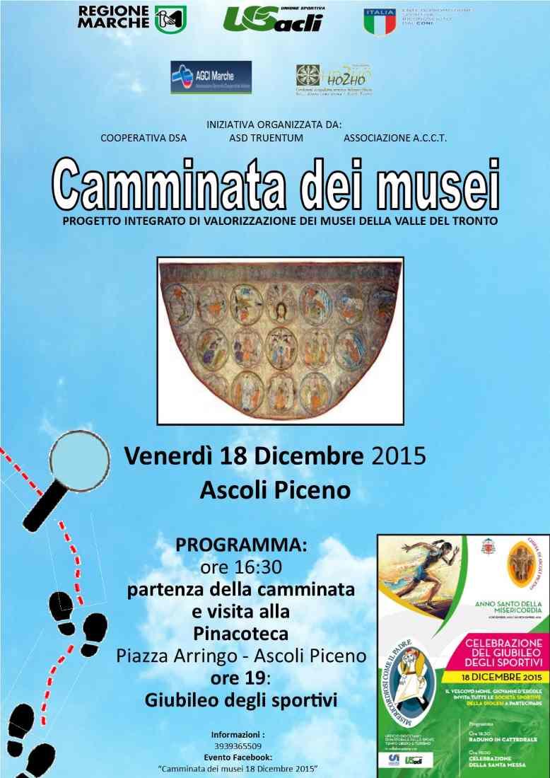 """Il progetto """"Camminate dei musei"""" torna ad Ascoli Piceno"""