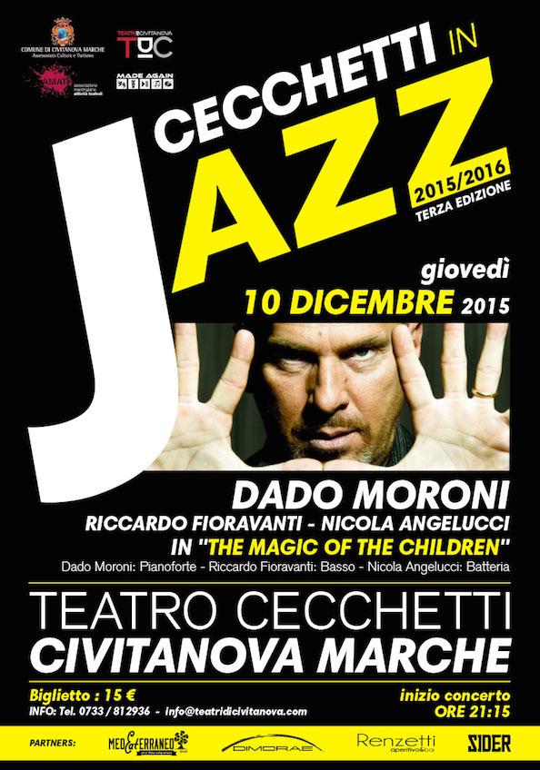 Dado Moroni inaugura Cecchetti in Jazz