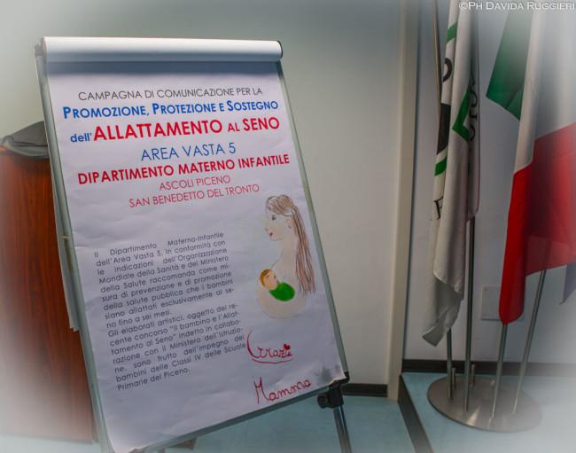 Promozione, protezione e supporto dell'allattamento al seno all'Asur Av5