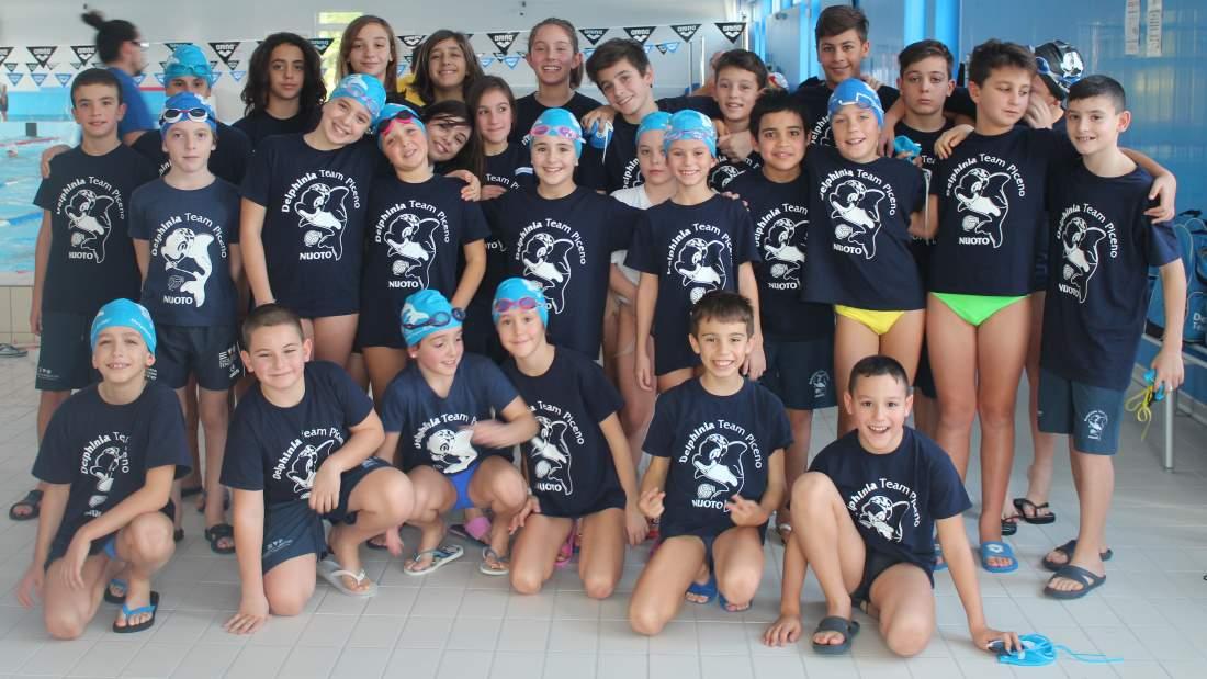 Bottino di medaglie per la Delphinia Team Piceno