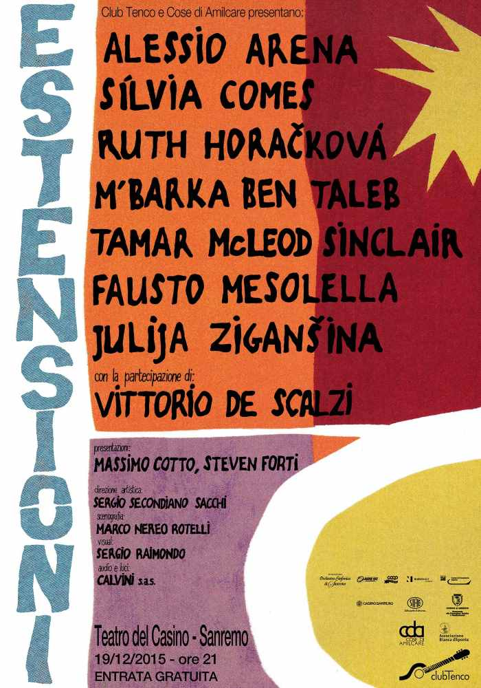 "Estensioni: al ""Tenco"" la poesia al femminile"