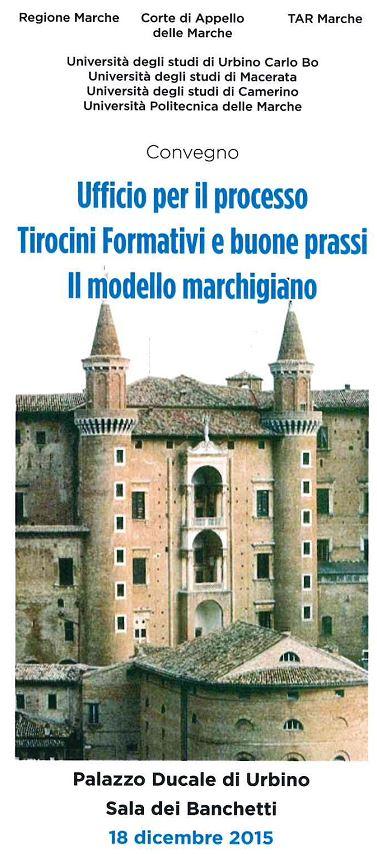 A Urbino il Ministro della Giustizia Andrea Orlando