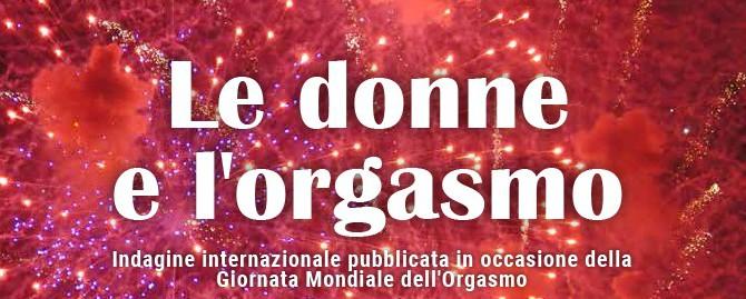 Le donne italiane e l'orgasmo