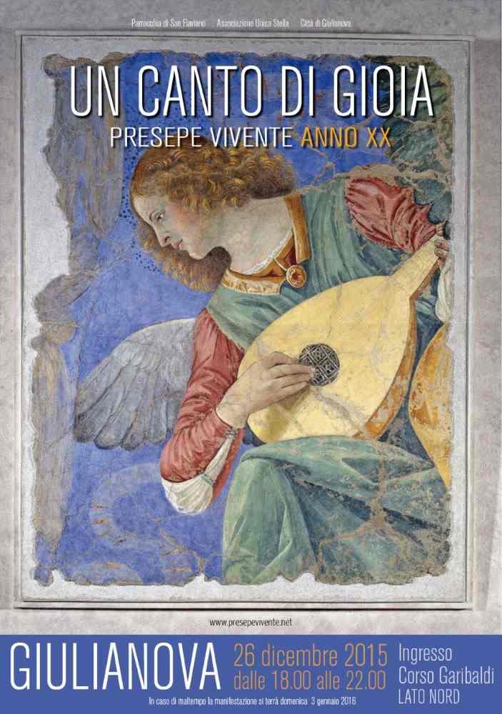 """Presepe Vivente di Giulianova, """"Un canto di gioia"""""""
