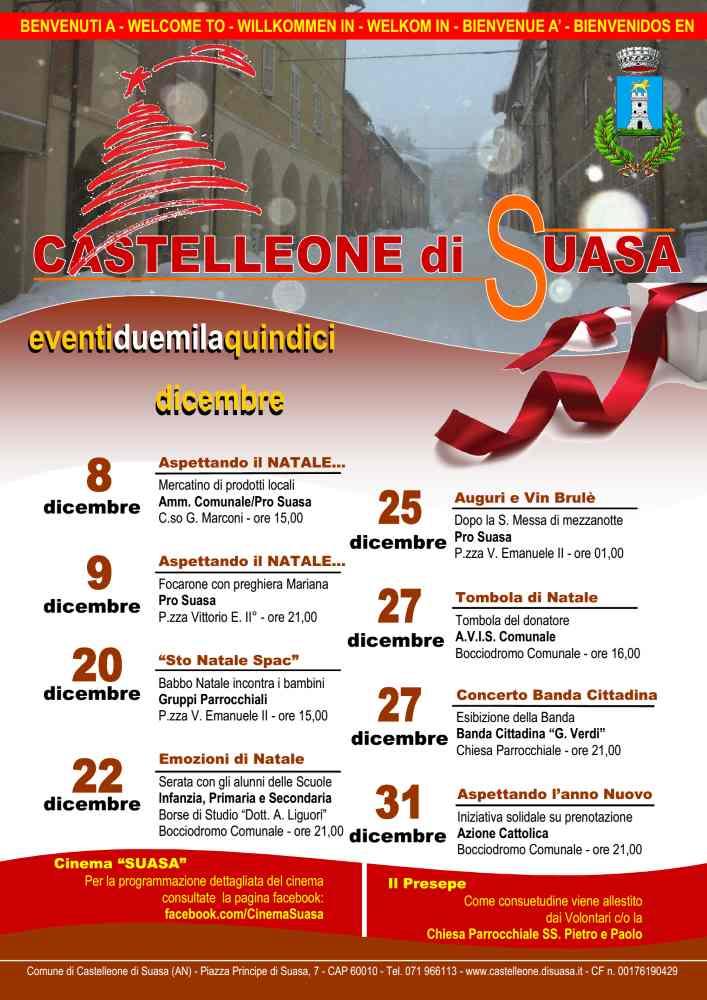 Pronti per il Natale a Castelleone