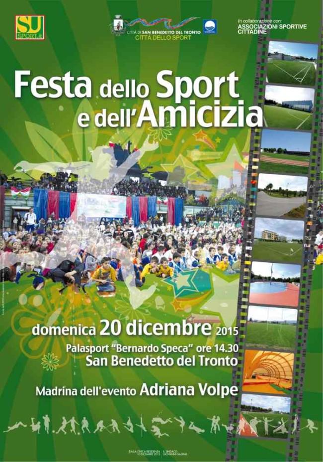 manifesto festa dello sport 2015