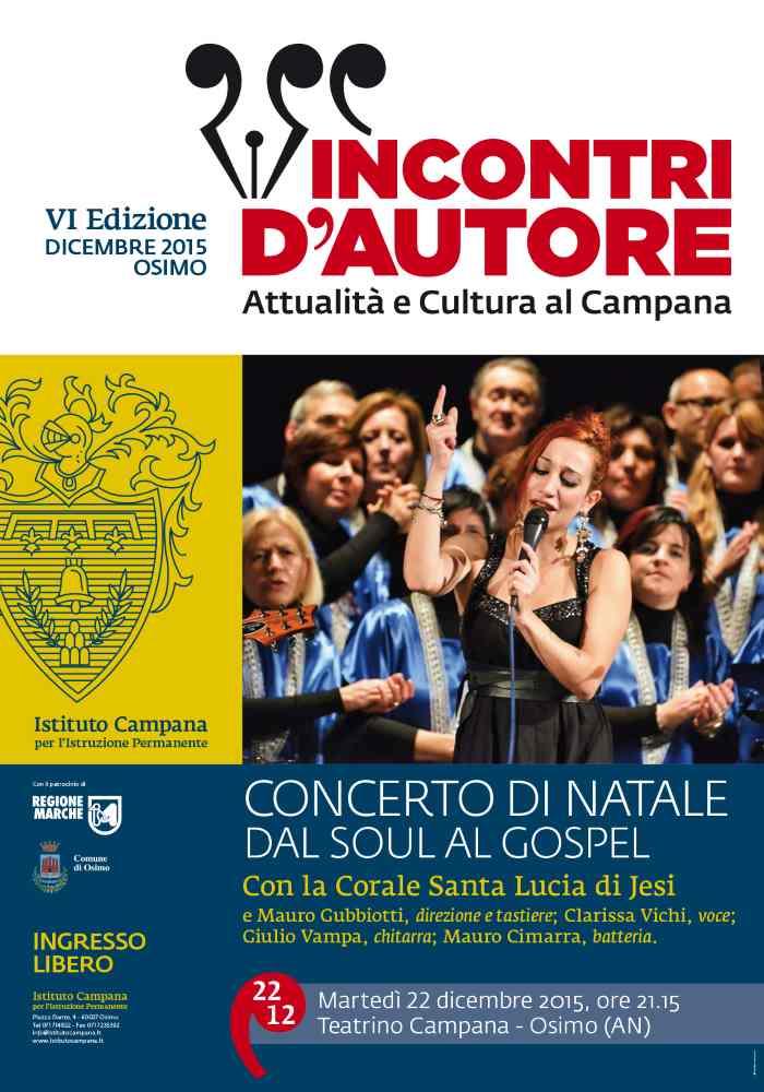 dal Soul al Gospel: concerto di Natale a Teatrino Campana